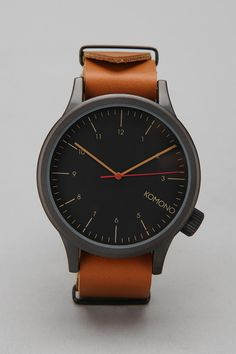 KOMONO Magnus Watch - This is gorgeous simplicity.