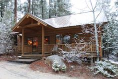 Dear not-so intrepid travelers, if your escape into nature requires four walls and the option of indoor plumbing, relax in some mountainous spots and wilder-nests that help maintain that physical and psychological barrier between you and the wild. Get your cozy on, from Jack Frosted cabins deep in the woods to family-style cocoons on the homestead. Some rustic and charming, some romantic and just definitively snozy.