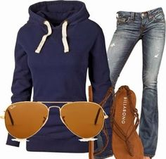 Winter Fashion 2014 - Casual costumes for teens 2014 | Girly stuff