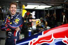 My favorite formula 1 driver, Seb Vettel