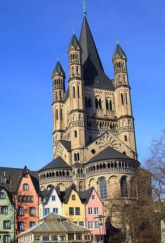 St. Martin's Church, Cologne, Germany