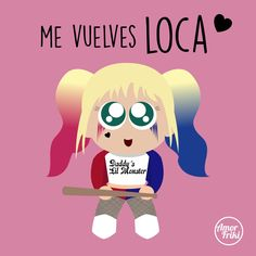 Me vuelves Ex Amor, Cute Love, My Love, Mr Wonderful, Joker And Harley Quinn, Cute Quotes, Cute Wallpapers, Romans, Funny Pictures