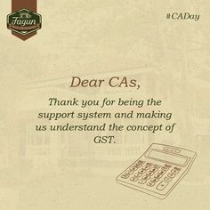 Happy CA Day to all the CAs!  #CADay