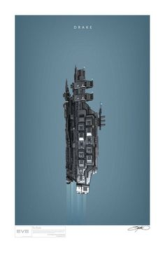 A collection of art print style posters inspired by the spaceships of Eve Online Concept Ships, Concept Art, Eve Online Ships, Robot Technology, Technology Gadgets, Drake Art, Robot Art, Robots, Spaceship Art