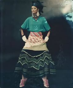 photo by Paolo Roversi, ethnic influence in fashion