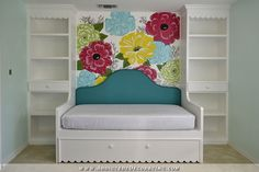 Bedroom Built-Ins Finished! (Bookcases, Daybed, and Trundle ...   Addicted 2 Decorating   Bloglovin'