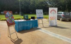 Checkcar 1st event at IIMB campus near the reception