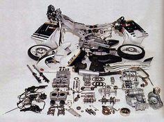 CBR 450 Cb 450, Cbr, Honda, Motorbikes