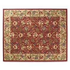 """Brianna Hook Wool Area Rug - 1'8"""" X 2'6"""" - Frontgate"""