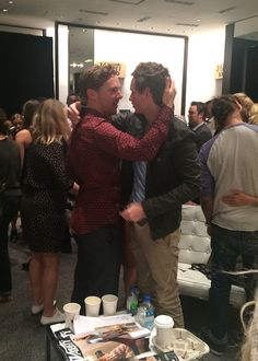 Eddie Redmayne and Benedict Cumberbatchs epic bromance.....everything I could ever ask for