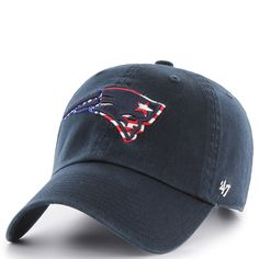 47 New England Patriots Star Spangled Banner Logo Cap at The Paper Store