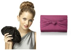 Every girl needs a clutch handbag, for a wedding or for a night out on the town, these two items make the perfect gift!
