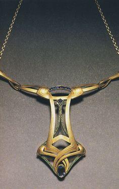 Necklace, Henry Van de Velde, c. In 1900 Art Noveau...
