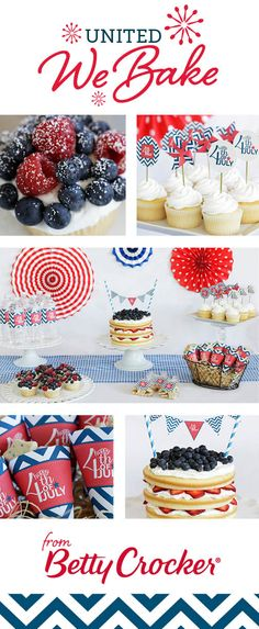 Printables for all of your red white and blue treats!