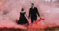 """This Haunting Wedding Shoot Takes """"Goth-Chic"""" to a Whole New, Sexy Level - Gothic Wedding Ideas Wedding Photoshoot, Wedding Shoot, Geek Wedding, Photoshoot Ideas, Wedding Stuff, Choosing A Wedding Theme, Horror Wedding, Black Wedding Dresses, Black Weddings"""