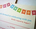 "Loving this cheerful ""fiesta"" theme  Via PapelVivo Invitations on etsy"