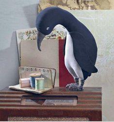 Выкройки мягких игрушек. Пингвин