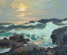 F. J. Waugh-The Maine Coast