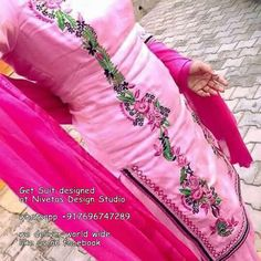 whatsapp All of our pieces can be made to measure and customisation options such as colour, embroidery and fabric changes are also available punjabi salwar suits - suits - patiala salwar suit - partywear salwar suits - punjabi bridal suit - wedding Punjabi Suits Party Wear, Punjabi Salwar Suits, Designer Punjabi Suits, Punjabi Dress, Indian Designer Wear, Patiala Salwar, Punjabi Bride, Anarkali, Embroidery Suits Design