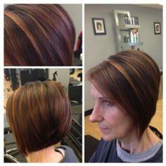 Hair by Hayley Pairama. Duncan Edward- Progressive European Hair Design in Madison, Wisconsin www.duncanedward.com #duncanedward #womenshair #highlights #bob