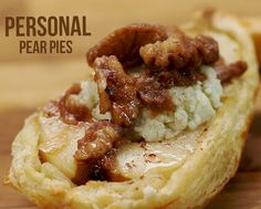 Start fall off with this delicious dessert - Personal Pear Pies.