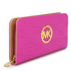 Michael Kors Wallet, rose red