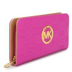 Michael Kors Wallet, rose red