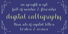 Check out the Ahra font at Fontspring. This Opentype font was created with a pointed pen & ink, and features a host of special features.