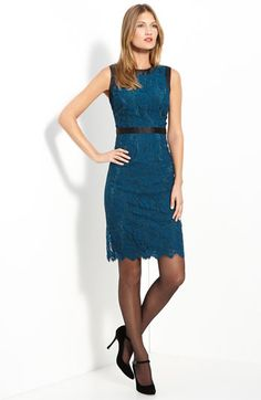 Milly Chantilly Lace Dress