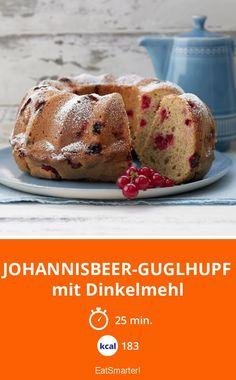 Johannisbeer-Guglhupf - mit Dinkelmehl - smarter - Kalorien: 183 Kcal - Zeit: 25 Min. | eatsmarter.de