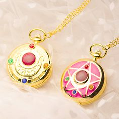 "Japanese sailor moon necklace pocket watch - Use the code ""batty"" at Sanrense for a 10% discount!"