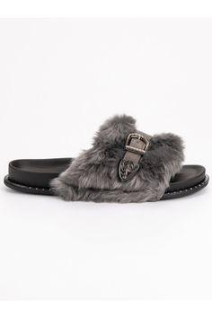 Sivé papuče s kožušinou a prackou CnB Gucci, Adidas, Shoes, Fashion, Moda, Zapatos, Shoes Outlet, Fashion Styles, Shoe