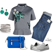 Casual in Converse by coolmommy44 on Polyvore featuring Marni, AG Adriano Goldschmied, Converse, Rebecca Minkoff, Ila, women's clothing, women's fashion, women, female and woman