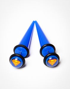 Superman Logo Fake Taper 2 Pk