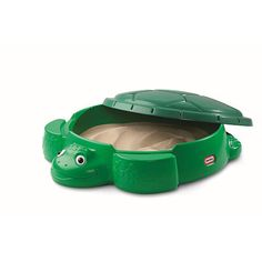 "x x 12 inches Little Tikes Sea Turtle Sandbox - Little Tikes - Toys ""R"" Us Little Tikes Turtle Sandbox, Kids Sandbox, Sandbox Cover, Face Mold, Toys R Us Canada, Sand Play, Green Turtle, Toy R, Wishes For Baby"