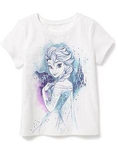 Disney© Frozen Graphic Tee for Baby Frozen Outfits, Disney Outfits, Frozen Clothes, Disney Clothes, Disney Girls, Baby Disney, Disney Frozen, Pijama Frozen, Little Girl Fashion