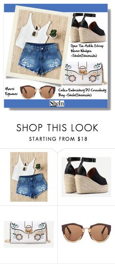 """""""Shein"""" by aminkicakloko ❤ liked on Polyvore featuring Marni"""