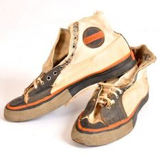 WORLD WAR II ERA CONVERSE WITH SWASTIKA SOLES