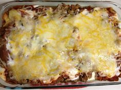 EmilyCanBake: Taco Lasagna
