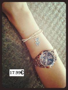 reloj 17.99, pulsera 1.99