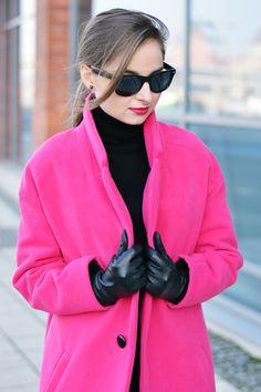 Pink Oversize Coat