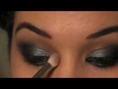 Art Lea Michele Smokey Eye Makeup Tutorial make-up