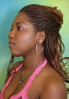 Crochet Braids Oakland : Micro Braids on Pinterest Tree Braids, Crochet Braids and Box Braids
