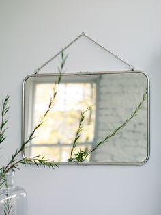 Spiegel Metallrahmen 40x1,5x57cm