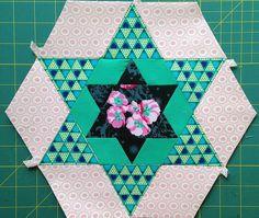 Smitten Large Hexagon Five C