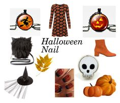 """halloween"" by nerma-brigic ❤ liked on Polyvore featuring WearAll, Charlotte Russe and L'Autre Chose"