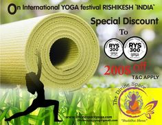#Divine_Space_Yoga #200Hrs_TTC #300Hrs_TTC #Detoxification_Retreat #Nature_Yoga_Camp #Nature_Yoga_Retreat #Ayurvedic_Yoga_Retreat #Intensive_Hatha_Yoga_Course #Yoga_Teacher_Training_Course  #Divine_space_yoga offers a huge discount on Rishikesh Yoga festival 2018. join us for #200_hrs_ttc  & #300_hrs_ttc with discount of 200$ . We will provide you #residential #yogic practice.To be a Yoga teacher.   Read more:  www.divinespaceyoga.com Mail us: divinespaceyog@gmail.com