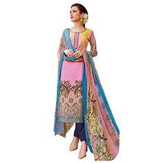 Nice Ready Made Gorgeous Indian Printed Cotton Salwar Kameez Suit Dress