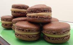 The Boozy Epicure: Marrons Glaces (Candied Chestnut) Inspired Macaron...