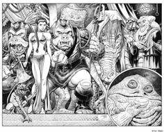 margaretems:  Return of the Jedi by Arthur Adams